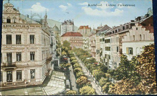 Karlsbad - Untere Parkstrasse
