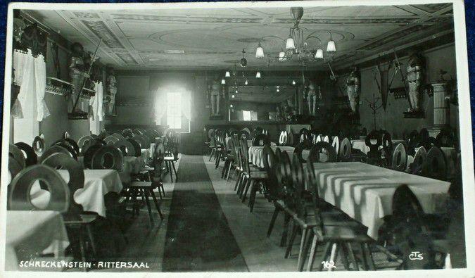 Ústí Střekov - Schreckenstein Rittersaal 1934