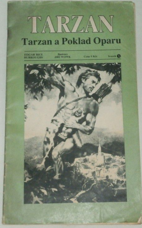 Burroughs Edgar Rice - Tarzan a Poklad Oparu (Svazek 5)