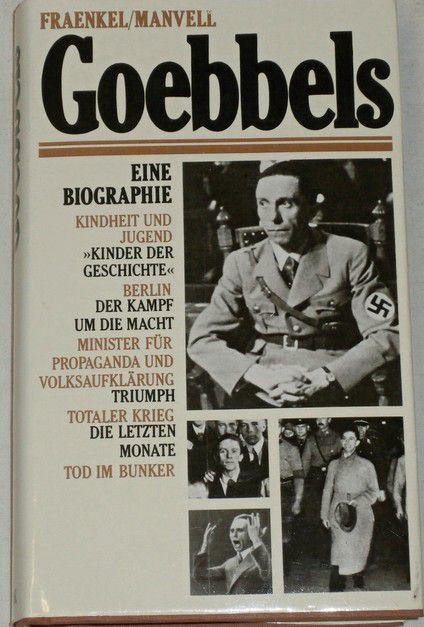 Fraenkel Heinrich, Manvell Roger - Goebbels