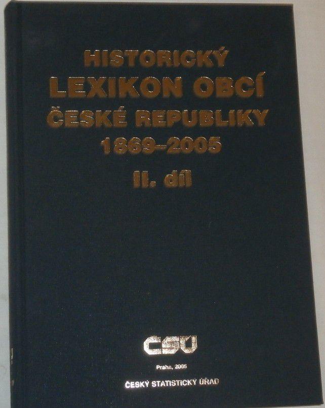 Historický lexikon obcí České republiky 1869 - 2005 2. díl
