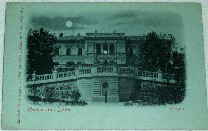 Bílina - Sauerbrunn, Bilin Curhaus cca 1900