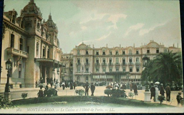 Francie - Monte Carlo Le Casino et Hotel de Paris