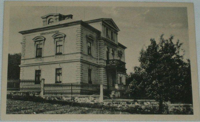 Janov u Litvínova: Hammer-Johnsdorf - vila 1930