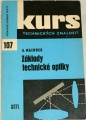 Mazurek A. - Kurs technických znalostí: Základy technické optiky