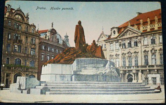 Praha - Husův pomník