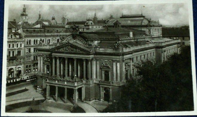 Brno - Národní divadlo 1949