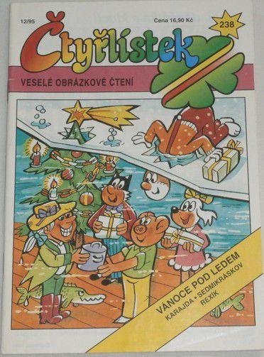Čtyřlístek 238 Vánoce pod ledem