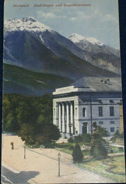 Rakousko - Innsbruck: Stadttheater